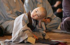 Children Becoming Buddhist Monks