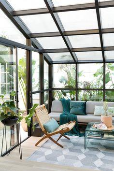 Sea Cliff Preppy Contemporary — Regan Baker Design Architecture Design, Home Design, Interior Design, Patio Design, Modern Shed, 1920s House, Outdoor Furniture Sets, Outdoor Decor, Outdoor Spaces