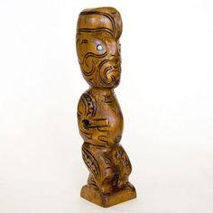 wooden-tekoteko-sculpture
