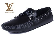 Louis Vuitton Moccasin Black Louis Vuitton Loafers, Men's Shoes, Dress Shoes, Moccasins, Loafers Men, Men Dress, Oxford Shoes, Casual, Black