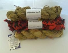 The most gorgeous yarn ever, plus it's fair trade certified! Giveaway compliments of Darn Good Yarn and AllFreeCrochet.