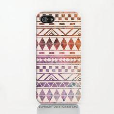 Tribal Galaxy iPhone 4s Case, Geometric iphone 4 case,aztec iphone 4s case,galaxy iphone 4 case