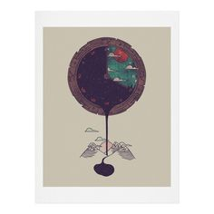 Hector Mansilla Night Falls Art Print | DENY Designs Home Accessories
