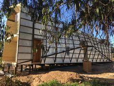 Dos Pieles House,Construction. Image Courtesy of Veronica Arcos