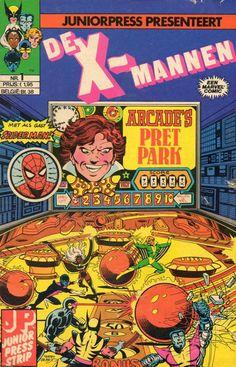 X-Mannen #1 Arcade's Grote Moordspel