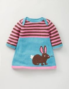 Rabbit knitted dress