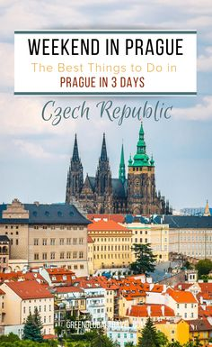 Weekend in Prague: The Best Things To Do in Prague in 3 Days. A day-by-day walking tour guide to Petrin Hill, Prague Castle, Malá Strana & Old Town Prague. Europe Travel Tips, Travel Guides, Places To Travel, European Destination, European Travel, Prague Things To Do, Weekend In Prague, Moon Hotel, Prague Castle