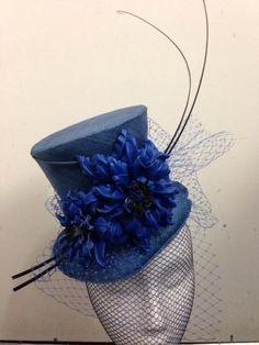 Mini top hat BY SHERILEE HONNERY #millinery #hats #HatAcademy