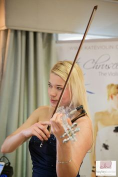 Kate Chruscicka The Violinist at The Wedding Affair at Ripley Castle on Sunday 27th April 2014, image courtesy of Hayley Baxter Photography www.theweddingaffair.co.uk