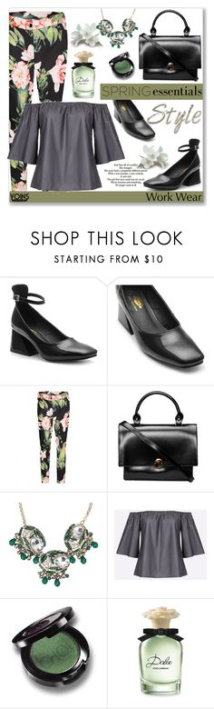 """""""Work Wear by Yoins"""" by jecakns ❤ liked on Polyvore featuring Love Quotes Scarves, Dolce&Gabbana, WorkWear, yoins, yoinscollection, loveyoins and springparfume"""