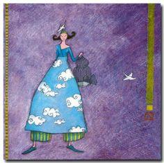 Gaëlle Boissonnard ~ La femme aux colombes