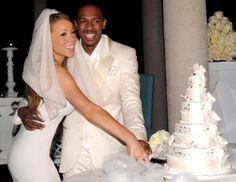 celebrity wedding cakes photos | Celebrity Wedding Cakes: Mariah Carey, Fergie, Toni Braxton and More