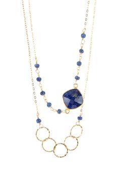 Sapphire Long Necklace on HauteLook