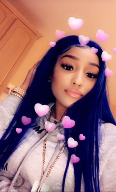 Blue Wigs Lace Hair Lace Frontal Wigs Blue And Green Hair Wet And Wavy – datestal Baddie Hairstyles, Black Girls Hairstyles, Weave Hairstyles, Pixie, Blue Wig, Blue And Green, Lace Hair, Wig Styles, Silky Hair