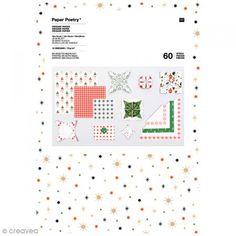 Papel origami Puristic Christmas -  - 60 hojas - Fotografía n°1