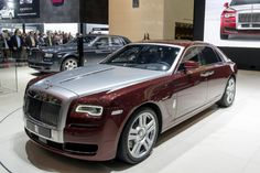 #RollsRoyce Ghost Series 2 en Geneva Auto Show 2014