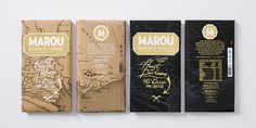 For the Heart of Darkness chocolate from Marou Faiseurs De Chocolat, X  marks the spot. This gorgeous bar of chocolate, which pairs up perfectly  with Treasure Island chocolate, feels like a mysterious journey as you look  at its map-inspired label.