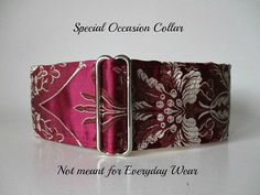 Silk Martingale Collar 2 Inch Martingale Collar by HuggableHound