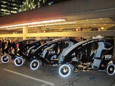 Light vehicles for short distances