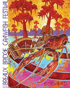2012 Crawfish Festival Poster