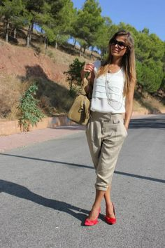 perfect business casual summer look