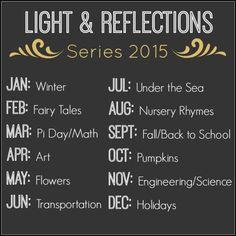 Light & Reflections Series! Fun Activities for Kids