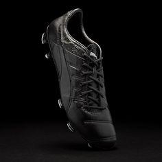 Puma evoPOWER 1.3 K FG - Black Black Black Zapatos De Fútbol Para Hombres 22529013fc15c