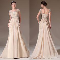 Crem sampanie. Voal fin. Cu trena Prom Dresses, Formal Dresses, Nasa, Corset, Fashion, Dresses For Formal, Moda, Bustiers, Formal Gowns