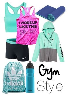 Gym Style by claudiadarcy101 on Polyvore featuring polyvore, fashion, style, Victoria's Secret, NIKE, adidas and SIGG. I hope you like the set ! Follow and like to see more !   Instagram : _polyvore_fashionista101_ Polyvore : claudiadarcy101