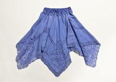 """""""Oceans of Sky gently Glide by"""" periwinkle blue skirt for your little mermaid to frolic in this Summer"""