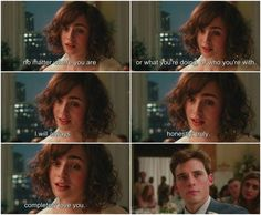 Ohh! Love, Rosie <3 Sam Claflin and Lily Collins <3