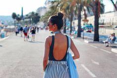 Promenade des Anglais Travel Set, Backless, France, Dresses, Fashion, Vestidos, Moda, Fashion Styles, Dress