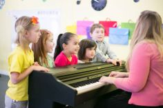 Another JuniorPiano Class (Age 4-6) doing their solfege set