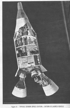 lockheed horizons 6-man space station 2