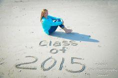 2014 Seniors; beach