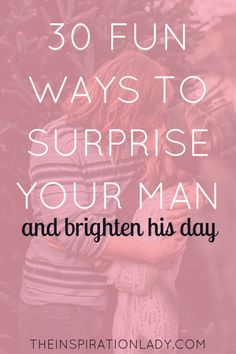 Healthy Man 30 fun and easy ways to surprise your man brighten his day! - Our significant others deserve a little surprise every now and then. Here are 30 fun ways to surprise them and brighten their day! Marriage Relationship, Happy Marriage, Marriage Advice, Love And Marriage, Dating Advice, Relationship Challenge, Relationship Issues, Relationship Improvement, Relationship Science