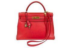 Hermès Rouge Kelly Retourne 32cm