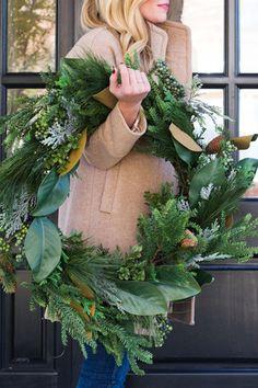 natural wreath, naturally