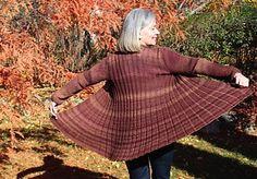 Ravelry: Sugar Maple Swing Coat pattern by Karen Gietzen
