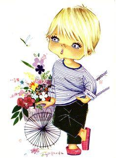 sweet little blue eyed boy....