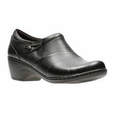 345c04c177a2 Clarks Channing Ann Leather Womens Casual Shoes - JCPenney