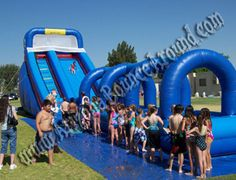 Inflatable party rentals in Phoenix. Bounce House, Water Slides, Dunk Tanks, Mechanical Bulls, Photo Booths, Dance Floors, Rock Walls, Bungee Trampolines, Trackless trains and more.