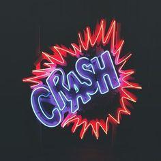 Image result for crash neon sign