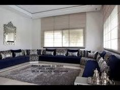 maroc livingroom maghreb salon marocain moderne maison marocaine marocain en salons marocains salon sjour gamme decoration argent haute - Decoration Triate Du Salon Beldi