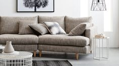 Home :: Furniture :: Lounges :: Fabric Lounges :: Galloway Angled Chaise Sofa