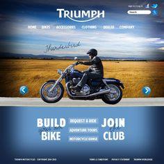Triumph web design