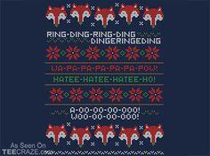 How Does A Fox Knit? T-Shirt - http://teecraze.com/how-does-a-fox-knit-t-shirt/ -  Designed by machmigo