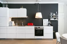 Post with 8308 views. Photos from house listings, Helsinki, Finland The Shanty, Kitchen Dining, Kitchen Cabinets, Scandinavian Interior Design, Helsinki, Rental Apartments, Small Spaces, New Homes, House Design