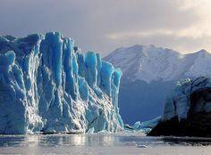 Glacier Perito Merino, Patagonia, Argentina