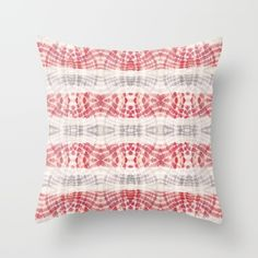 Throw Pillow made from 100% spun polyester poplin fabric, a stylish statement that will liven up any room. Individually cut and sewn by hand, each… #bohemian #bohochic #pillow #homedecor #hogar #decoracion #watermelon #pink #interiors #pattern